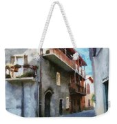 Quiet In Almenno San Salvatore Weekender Tote Bag