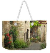 Quiet Lane In St Cirq I France Weekender Tote Bag