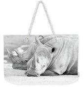 Rhino Quiet Moment Weekender Tote Bag