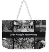 Quiet New Orleans Weekender Tote Bag