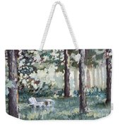 Quiet Place Weekender Tote Bag
