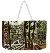 Quiet Pond Weekender Tote Bag