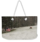 Quiet Remembrance Quantico National Cemetery Weekender Tote Bag