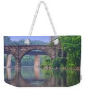 Quiet River Weekender Tote Bag by Bill Cannon