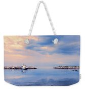 Quiet Sea Weekender Tote Bag