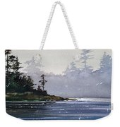 Quiet Shore Weekender Tote Bag