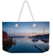 Quiet Solitude Rockport Harbor Weekender Tote Bag
