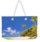 Quiet Tahiti Beach Weekender Tote Bag