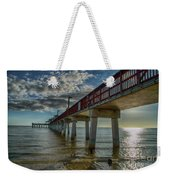 Quiet Time At The Beach Weekender Tote Bag