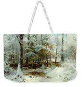 Quiet Winter Afternoon Weekender Tote Bag