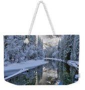Quiet Winter Morning Weekender Tote Bag