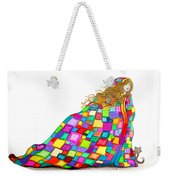Quilted Dreams Weekender Tote Bag