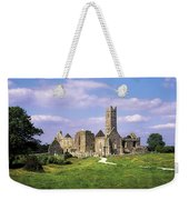 Quin Abbey, Quin, Co Clare, Ireland Weekender Tote Bag