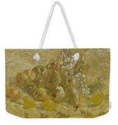 Quinces, Lemons Pears And Grapes Paris, September - October 1887 Vincent Van Gogh 1853  1890 Weekender Tote Bag