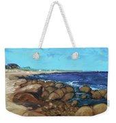 Quonocontaug West Beach Weekender Tote Bag