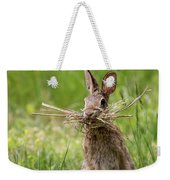 Rabbit Collector Square Weekender Tote Bag