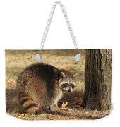 Raccoon #4 Weekender Tote Bag