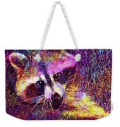 Raccoon Animal Cute Mammal  Weekender Tote Bag