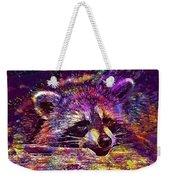 Raccoon Wild Animal Furry Mammal  Weekender Tote Bag
