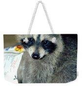 Raccoon1 Snack Bandit Weekender Tote Bag