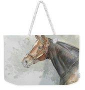 Race Horse Study 1 Weekender Tote Bag