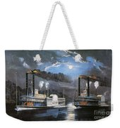 Race On Mississippi, 1860 Weekender Tote Bag