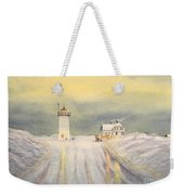 Race Point Lighthouse Provincetown Weekender Tote Bag