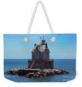 Race Rock Lighthouse Weekender Tote Bag