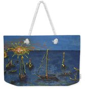 Raceday Sunrise Weekender Tote Bag