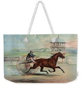 Racehorse: Goldsmith Maid Weekender Tote Bag by Granger