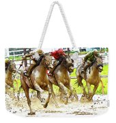 Racetrack Dreams 11 Weekender Tote Bag