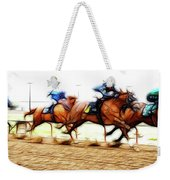 Racetrack Dreams 7 Weekender Tote Bag
