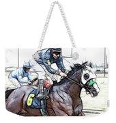 Racetrack Dreams 8 Weekender Tote Bag