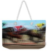 Racetrack Dreams  Weekender Tote Bag