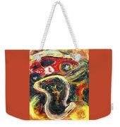 Racetrack Melting Weekender Tote Bag