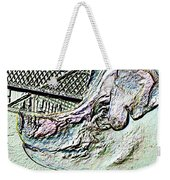 Rachael The Market Pig Weekender Tote Bag