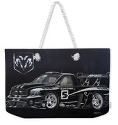 Racing Dodge Pickup Weekender Tote Bag