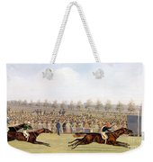 Racing Scene Weekender Tote Bag