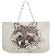 Racoon Weekender Tote Bag