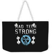 Rad Tech Strong Radiology Workout Weekender Tote Bag