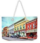 Radford Virginia - Along Main Street Weekender Tote Bag