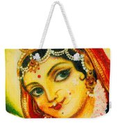 Radha - The Indian Love Goddess Weekender Tote Bag
