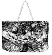 Radiance In Monochrome  Weekender Tote Bag