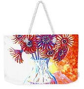 Radiant Array Weekender Tote Bag