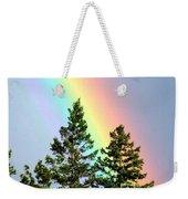 Radiant Rainbow Weekender Tote Bag