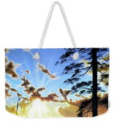 Radiant Reflection Weekender Tote Bag