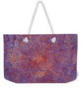 Radiation With Blue And Red  Weekender Tote Bag