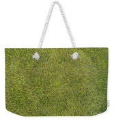 Radiation With Green With Yellow Weekender Tote Bag