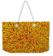 Radiation Yellow  Weekender Tote Bag