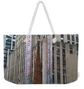 Radio City Music Hall New York City Weekender Tote Bag